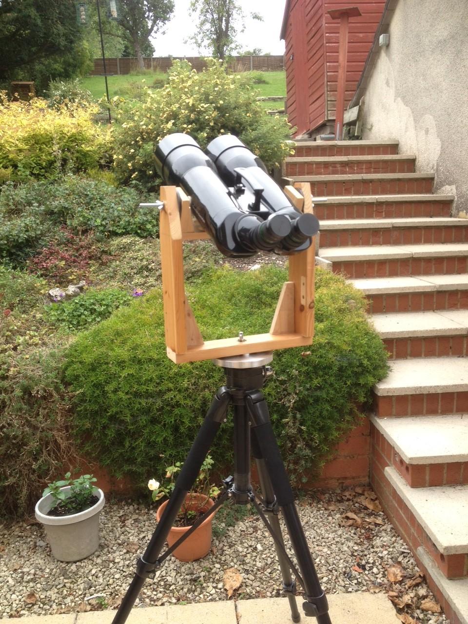 Alt Az Binocular Mount Diy Astronomer Stargazers Lounge