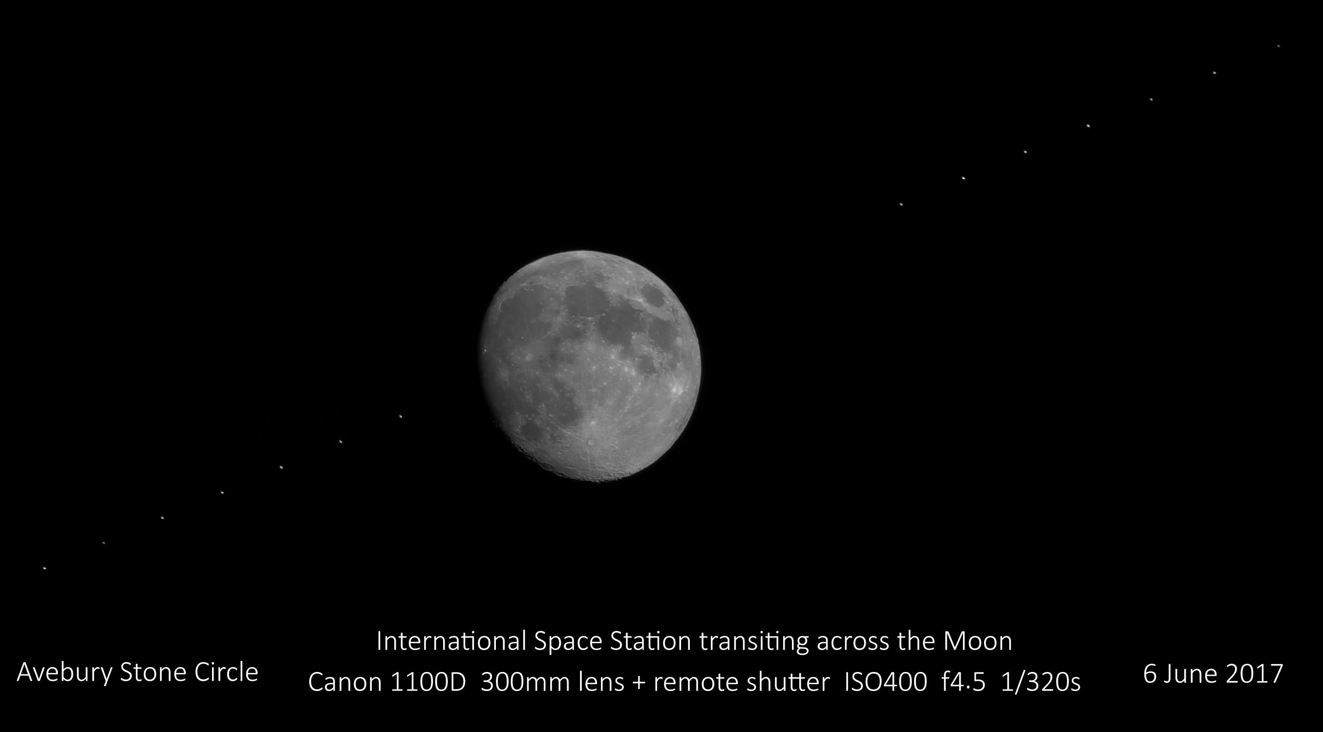 Moon ISS Transit 20170606